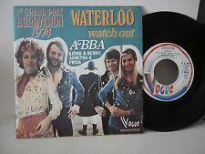 "ABBA,Björn & Benny, Agnetha & Frida""waterloo""single7""or.Fr.vogue:45x3075 de1974."