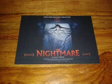 THE NIGHTMARE - Rodney Ascher - 2015 - Sleep Paralysis - Official Postcard