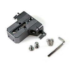 15mm Plate Baseplate Universal Plate with 15mm Rod Clamp for Camera Support Rig