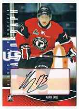 2012-13 HEROES AND PROSPECT AUTOGRAPH ADAM ERNE AUTO QUEBEC REMPARTS #A-AER