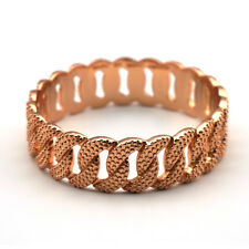 Marc by Marc Jacobs Rose Gold  Lizard Embossed  Katie Bangle