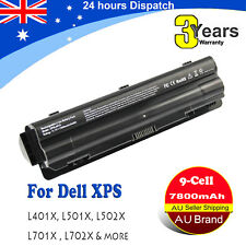 9Cells Battery for Dell XPS 14, L401X P12G ,XPS 15, L501X, L502X, L701X, L702X