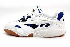 Puma Mens Trinomic Horizon Indoor Soccer Shoe White Blue Size 7 M US EUC