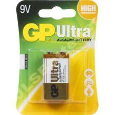 10 x GP ULTRA 9V Batteries MN1604 6LR61 PP3 BLOCK 6LF22 ALKALINE