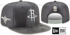 Rockets '2017 NBA ONCOURT SNAPBACK' Charcoal Hats by New Era
