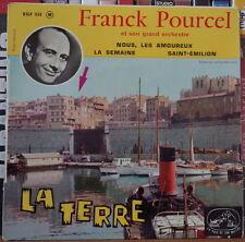 """FRANCK POURCEL ET SON GRAND ORCHESTRE LA TERRE 45t 7"""" FRENCH EP"""