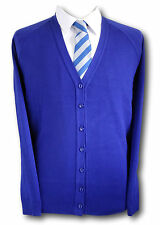Traditional Girls School Uniform Cardigans. Various Colours & Sizes. Up To 46""