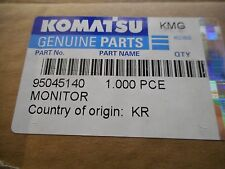KOMATSU 95045140 MONITOR  ASSY FACTORY SEALED PC3000 PC4000 PC5500  PC8000