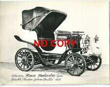 Photo carte Collection Henri Malartre Double Phaëton Gobron Brillié 1899 tacot