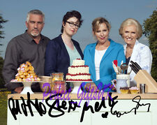 Great British Bake Off Cast TV SIGNED AUTOGRAPHED 10X8 PRE-PRINT PHOTO