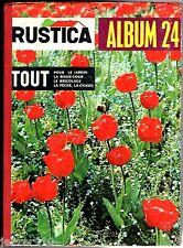 RELIURE/ALBUM RUSTICA n°24 - Avec n°36 à 53 de 1961 - TBE