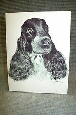 English Cocker Pen and Ink Stationary Cards, Note Cards, Greeting Cards.10 pack.