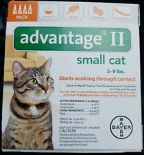 New listing Bayer Advantage Ii For Small Cats, Orange, 5-9 lbs 4-Pk Usa Version Epa Approved