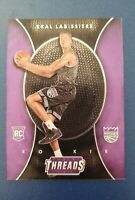 2016-17 Panini Threads Skal Labissiere Micro Etch Rookies RC Kings #276