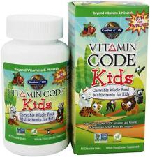 Vitamin Code Kids by Garden of Life, 60 piece