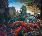 MAX ERNST The Temptation of Saint Anthony (55x46.5cm), CANVAS, POSTER FREE P&P
