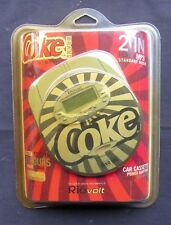 RioVolt Coca Cola SP50C Coke Volt Portable CD/MP3 Player with Car Kit NIP!