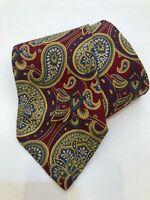 BURBERRY LONDON Tie 100% Silk Vintage Paisley