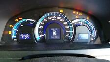 TOYOTA CAMRY INSTRUMENT CLUSTER, 2.5, AUTOMATIC, HYBRID, ACV50, 03/12-05/15