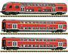 Fleischmann N 862810 Doppelstockwagen-Set der DB AG mit Steuerwagen - NEU + OVP