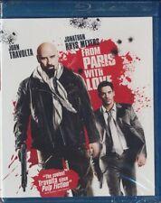 From Paris With Love (Blu-ray Disc, 2010) John Travolta BRAND NEW