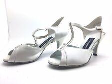 Chaussure de danse de salon pour femme:diamant couleur:blanc taille: 38,5