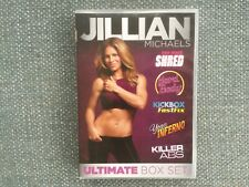 Jillian Michaels Ultimate Box Set 5 x Fitness Workout Exercise DVDs