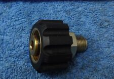 JETWASH KARCHER ADAPTOR SCREW FITTING 22MM FEMALE X 1/4 BSP MALE CONNECTOR HOSE