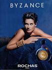 Publicité Advertising 1990 Parfum BYZANCE de ROCHAS ...