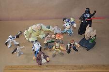 Star Wars Action Figure & PVC Lot of 13 LFL Hasbro Lucas Films #1878