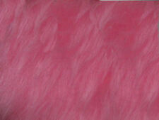 Pink Blush Plain Faux Fur Fabric Short Hair 150cm Wide SOLD BY THE METRE