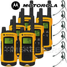 10Km Motorola TLKR T80 Extreme IPX4 Rugged All Weather Two Way Radios Six Pack