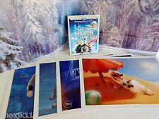NEW Frozen Elsa Anna 4 LITHO PRINT Posters & MOVIE 2Disc BluRay DVD Digitial HD!