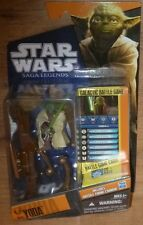 Star Wars Saga Legends SL13 YODA Figure Galactic Battle Game