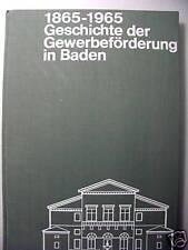 Geschichte Gewerbeförderung in Baden 1965