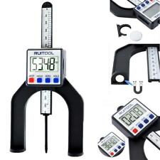 LCD Digital Height Depth Gauge Gage Magnetic Measuring Router Table Saw Tools