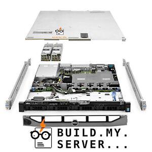 Dell PowerEdge R430 Server 2x E5-2640v3 2.60Ghz 16-Core 128GB 4x 4TB 12G H730