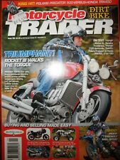 Motorcycle Trader 2004 Triumph Bonneville T120 Rocket Yamaha YZF1000R Thunderace