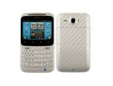 Skinomi Silver Carbon Fiber Body Film + Screen + Screen Protector for HTC ChaCha