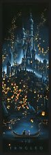 JC Richard Tangled SIGNED AP #/25 Movie Poster Castle Disney Pixar Cyclops Mondo