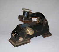 Old antique vtg Early 1900's Cast Iron Cosmo Railroad Ticket Dater Model No 1 Ve
