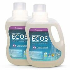 Earth Friendly Products ECOS 2X Hypoallergenic Liquid Laundry Detergent Laven...