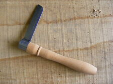 Ray Iles Micro Froe - Spring Steel Cleaving Axe - Green Woodworking Chair Making
