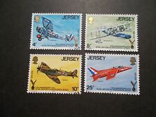 Jersey 1975 Commemorative Stamps~R.A.F.A.~Very Fine Used Set~UK Seller