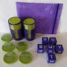 Cranium Pop 5 Board Game Scoring Tokens cupS letter dice Replacement parts