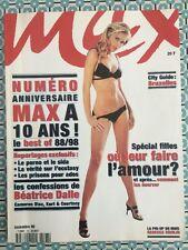 MAX French 11/1998 Spécial Anniversaire 10 Ans Rebecca Romijn Christina Ricci