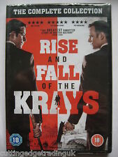 The Rise and Fall of the Krays (DVD, 2015) 2 DVD Set NEW SEALED, Region 2 PAL