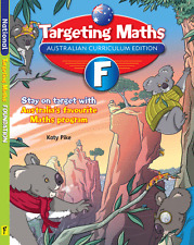 TARGETING MATHS Foundation AUSTRALIAN CURRICULUM 9781742152196  Free Postage