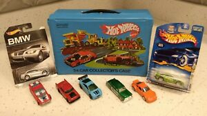 Vintage 1980 Hot Wheels 24 Car Collector's Carry Case w/ trays #8227
