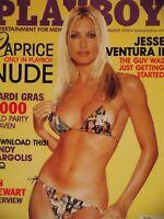 Playboy March 2000   Caprice Nicole Marie Lenz   #3585+